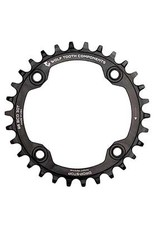 Wolftooth Plateau 30D, BCD: 96mm, Shimano, Noir