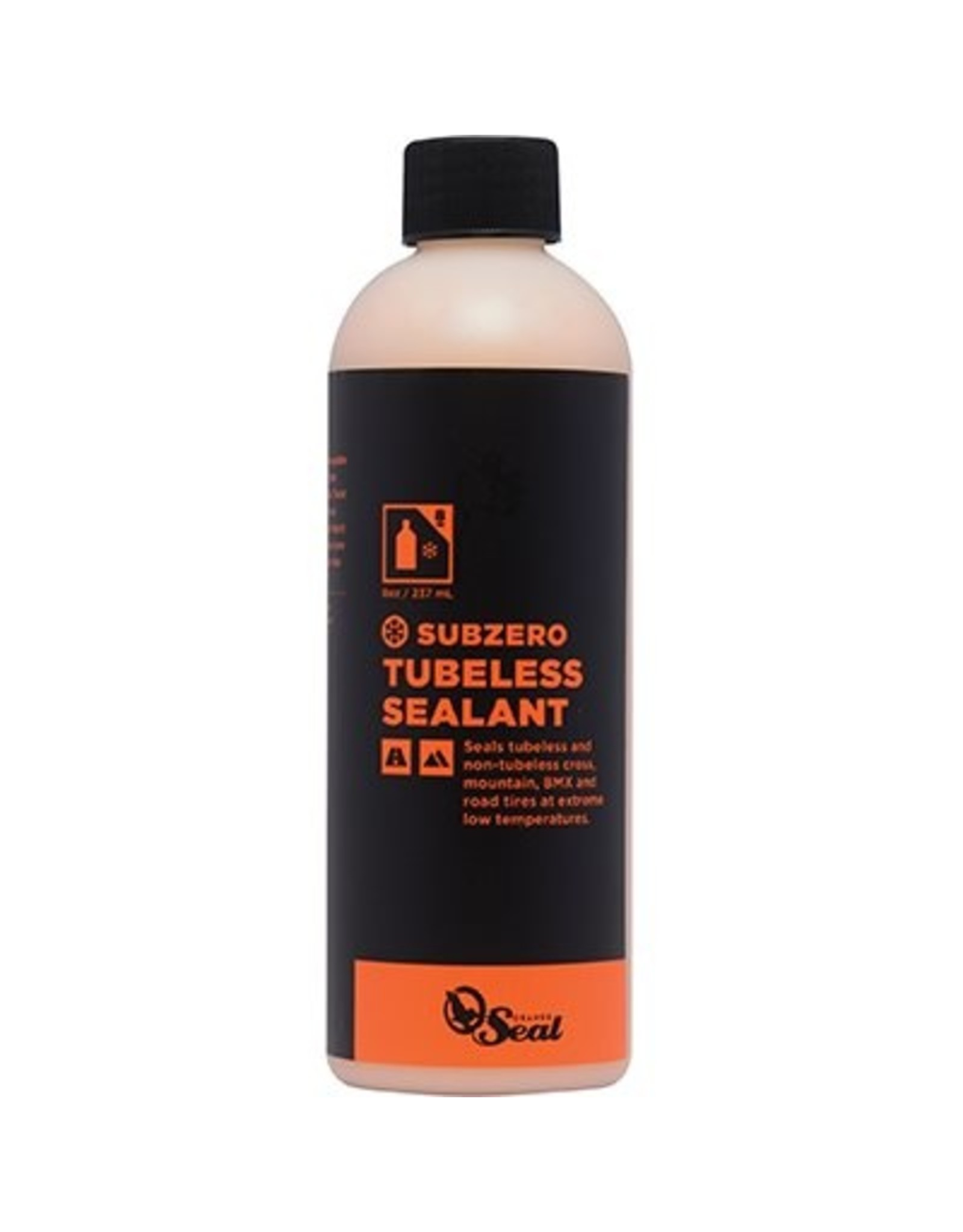 Orange Seal Scellant A pneu Subzero Orange Seal Cycling Recharge 8 oz/236 ml actif sous 0/32 degrEs