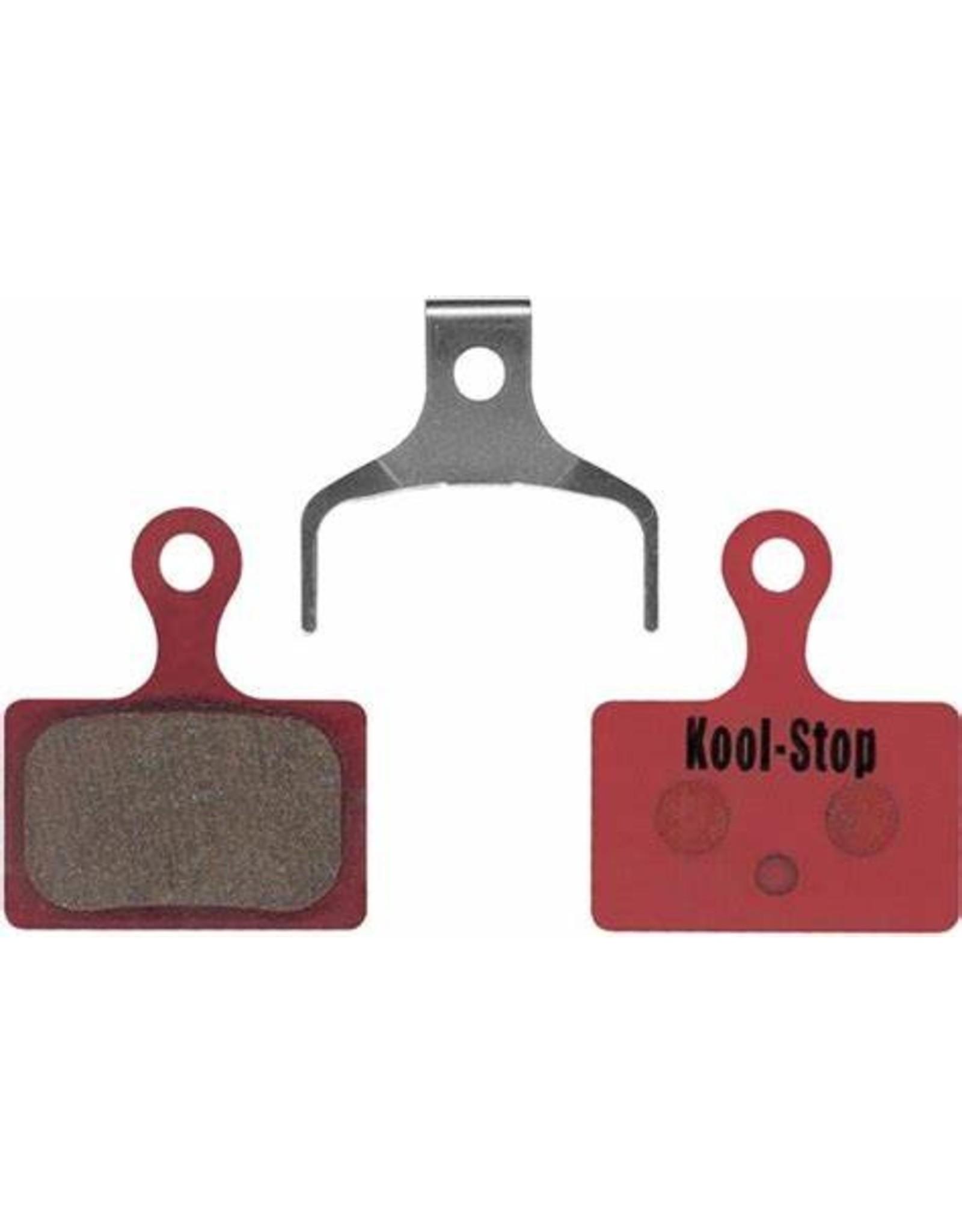Kool Stop Kool-Stop Shimano Organic Direct Mount RS505/RS805 Road Disc Brake Pads Steel Plate #KS-D625