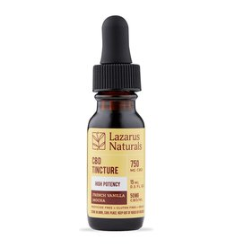 Lazarus Naturals 750mg French Vanilla Mocha Flavored Lazarus High Potency Tincture 15ml