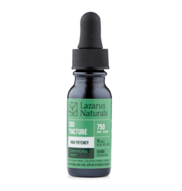 Lazarus Naturals 750mg Chocolate Mint Lazarus High Potency Tincture 15ml