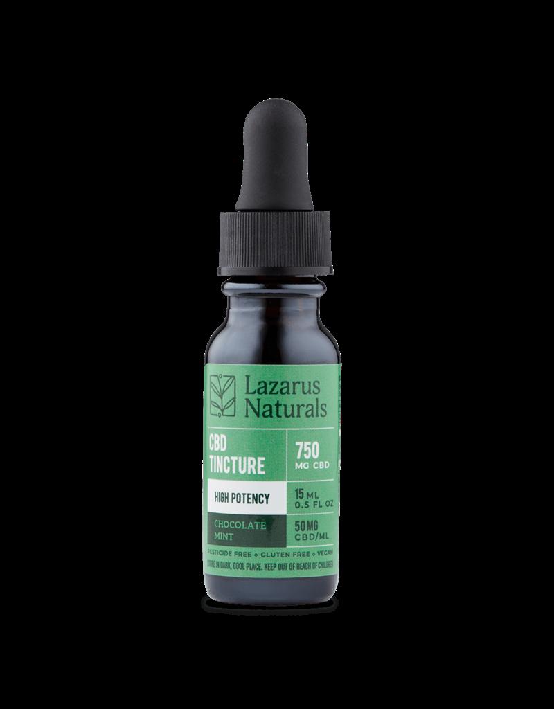 Lazarus Naturals 750mg Chocolate Mint Lazarus High Potency Tincture 15ml