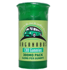Organabus 300mg Organabus CBD Gummies (42mg Per)