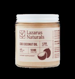 Lazarus Naturals 50MG 4oz Lazarus CBD Coconut Oil (1,200 mg)
