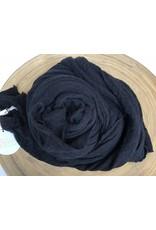Scarf Shop Wool Scarf- Black