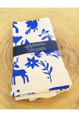 Appetite Shop Dish Towel Set-Blue Otomi