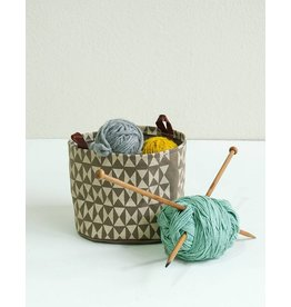 Appetite Shop Large Fabric Bucket-Harlequin