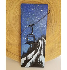 Basin Reclaimed Painted Wood Art-ChairLift