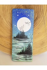 Basin Reclaimed Painted Wood Art Small-Landscape