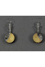 Jenny Reeves Holllow SS Night Earrings-Diamonds Keum Boo