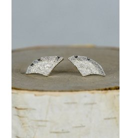 Jenny Reeves Sterling Silver Angel Wing Studs