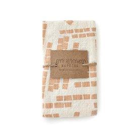 Jenny Pennywood Shell Tiles Napkins-set of 2
