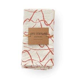Jenny Pennywood Terra Cotta Weave Napkins-set of 2