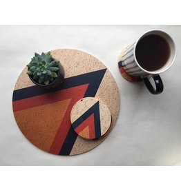 Tramake Arrow Printed Wood Trivet