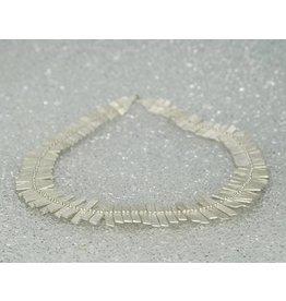 462ba4b1a Sarah Swell Jewelry Fishbone Collar Sterling Silver