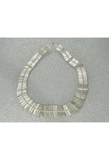 Sarah Swell Jewelry Fishbone Collar Sterling Silver