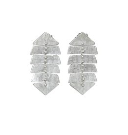 8379ae1cb Sarah Swell Jewelry Fishbone Mini 4 Bone Studs Sterling Silver