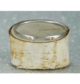 Elle Naz Sterling Silver Bracelet 14k Gold 4 Solid Tubes