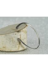 Elle Naz Sterling Silver Bracelet 14k Gold Balls
