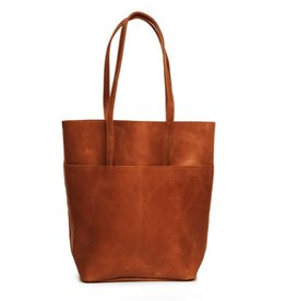 ABLE Selam Magazine Tote: Chestnut