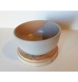 Settle Ceramics Side Bowl: Matte White
