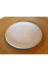 "Settle Ceramics Horizon Plate 8.5"": Milk White"