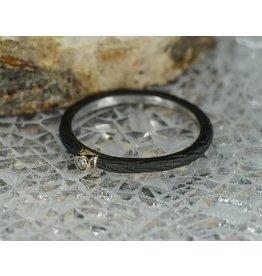 Sarah Graham Metalsmithings Pebble Stacking Ring, .03ct Diamond CC: 6