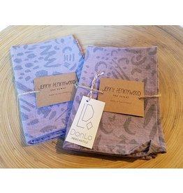 Jenny Pennywood Tea Towel Lavender
