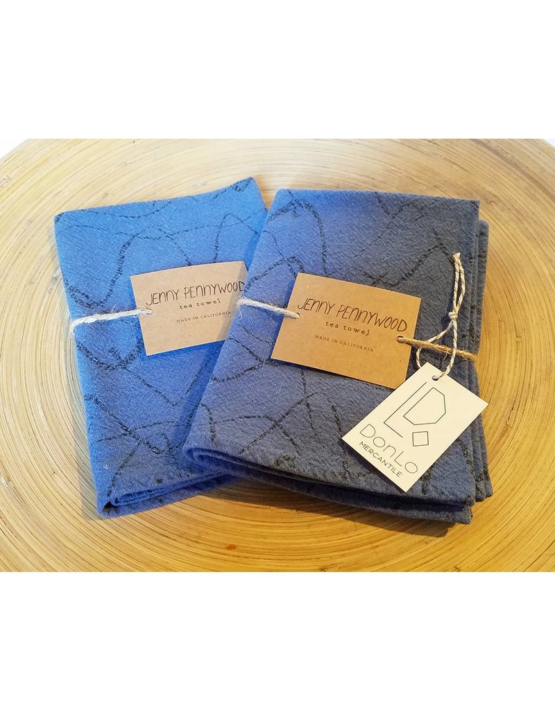 Jenny Pennywood Denin Weave Tea Towel