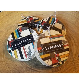 Tramake Bauhaus Wood Coaster-set of 4