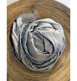 Scarf Shop Organic Cashmere Scarf-Silver