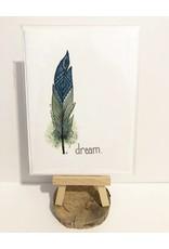 HM Design Studios Inspirational Feather Cards