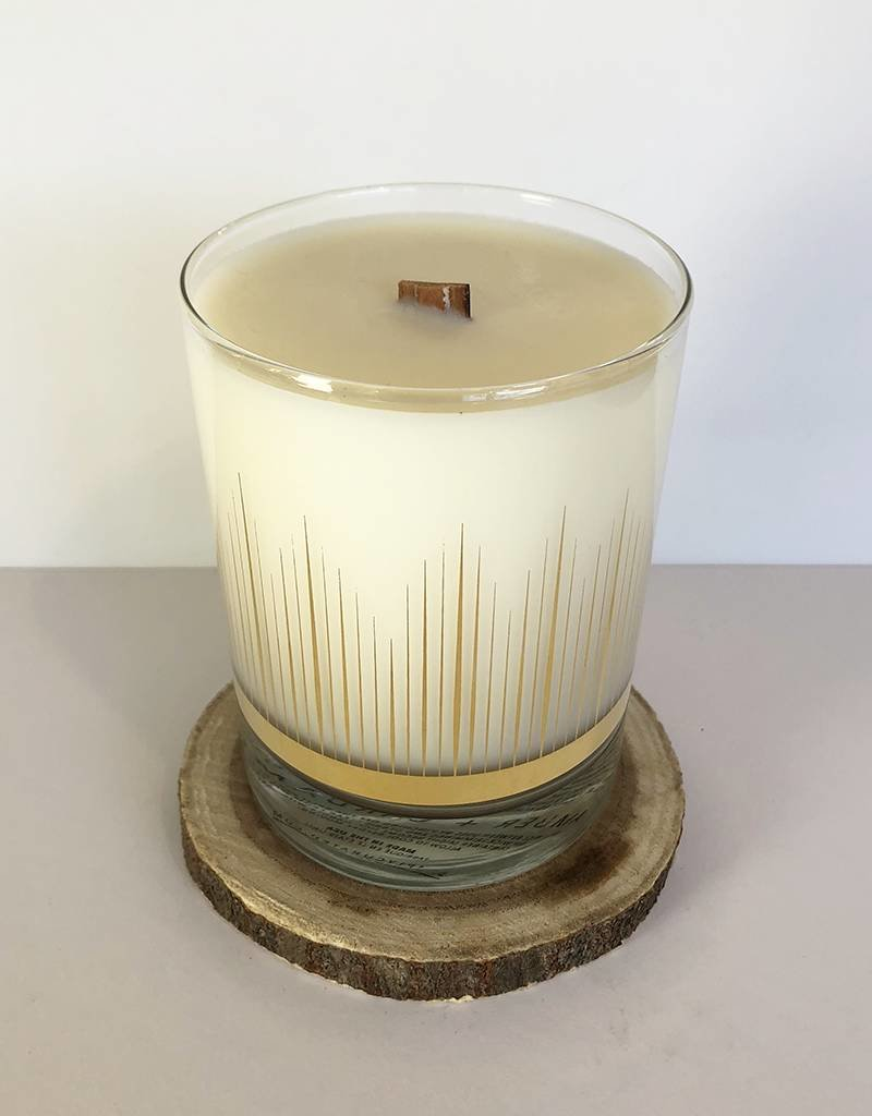 Simply Curated Amber + Cardamom Soy Candle