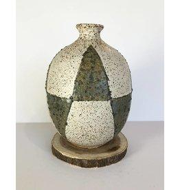 Matthew Ward Thorn Pattern Bud Vase