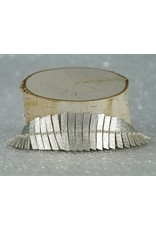 Sarah Swell Jewelry Fishbone Bracelet Sterling Silver