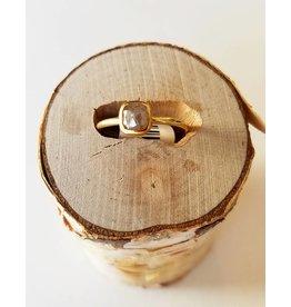 Nichole Shepherd Jewelry 18k Yellow Gold Diamond Ring-7.5
