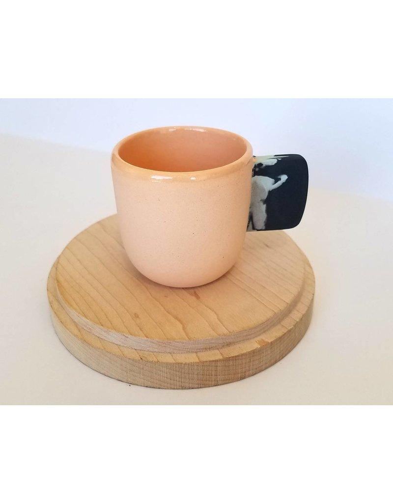 Peaches Espresso Cup Splat