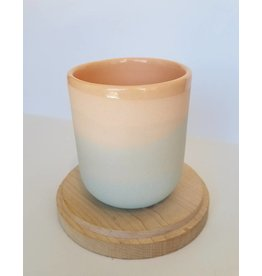 Peaches Sunset Cup-8oz