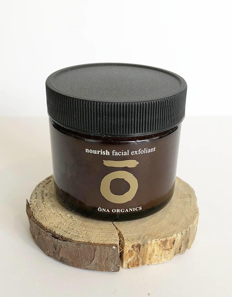 ONA ORGANICS Nourish facial exfoliant