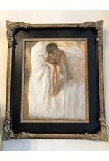 """Devon-Made In Breckenridge Colorado """"Lori II""""-oil on 14""""x11"""" Framed Canvas"""