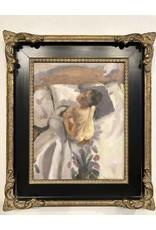 "Devon-Made In Breckenridge Colorado ""Anna""-Oil on 14""x11"" Framed Panel"