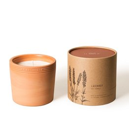 P.F Candle Co Terra Soy Candle-Lavander
