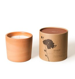P.F Candle Co Terra Soy Candle-Geranium