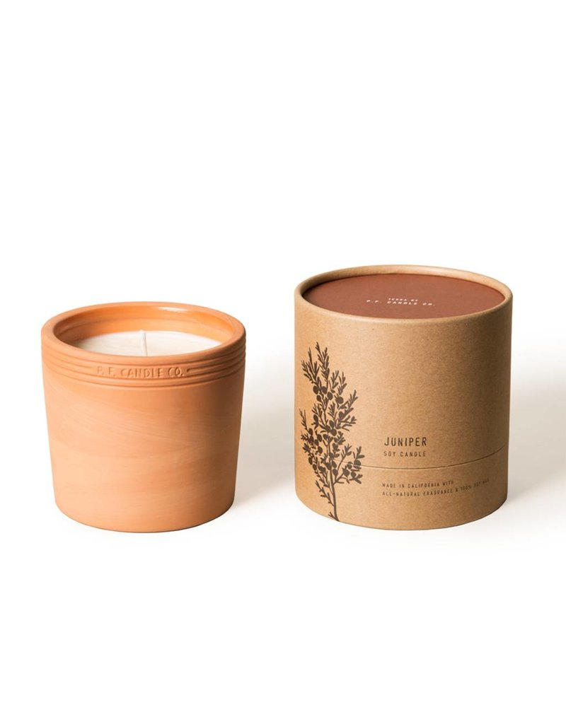 P.F Candle Co Terra Soy Candle-Juniper