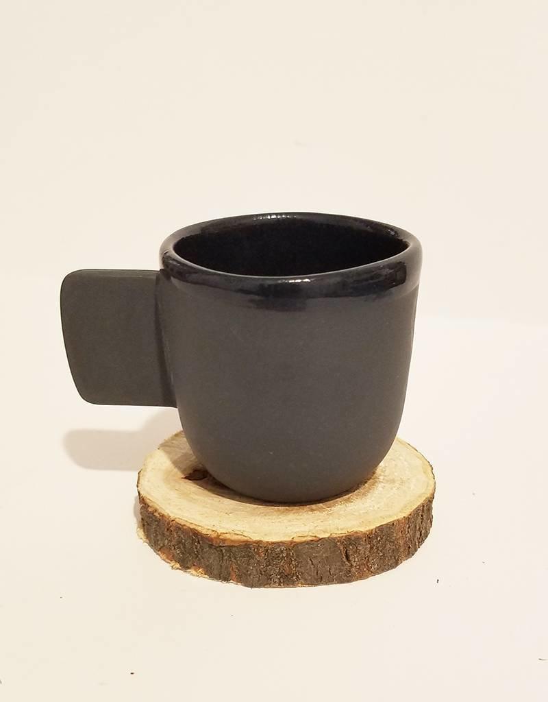 Peaches Espresso Cup-Black