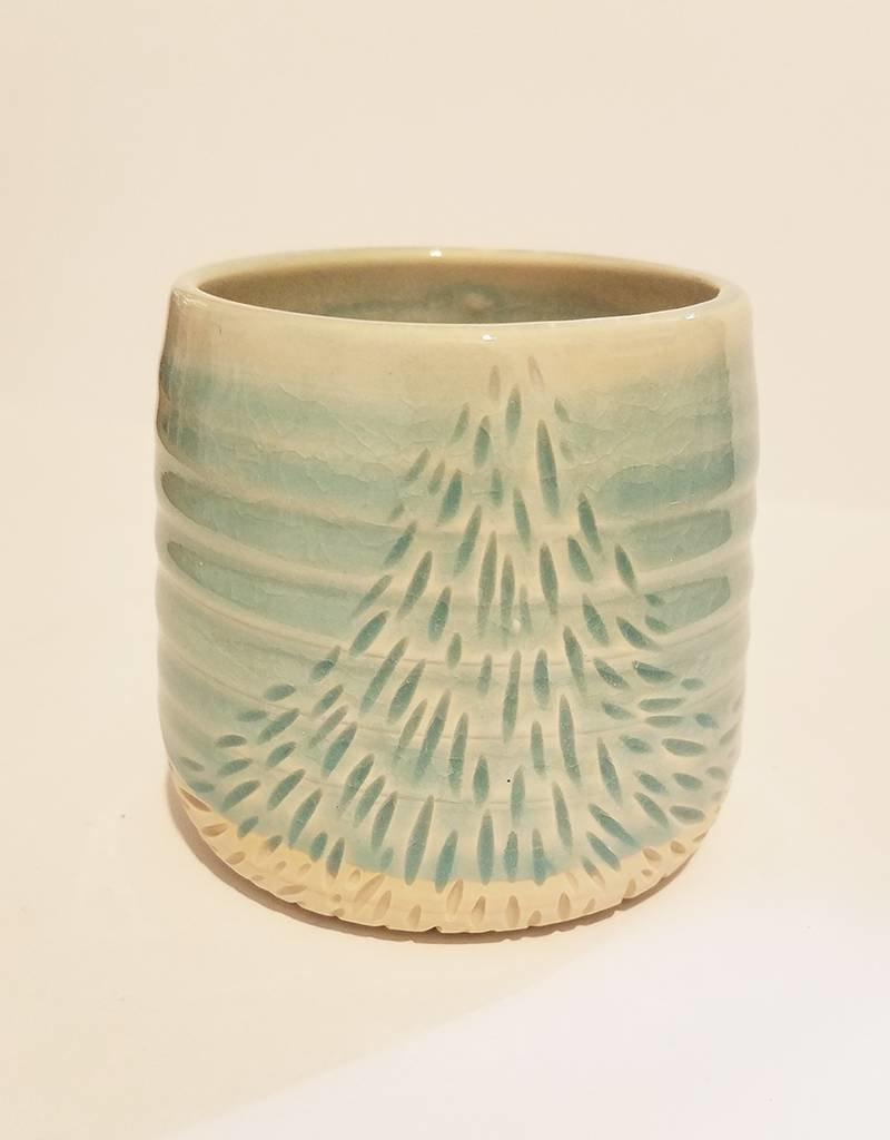 Unurth Ceramics Ray Cup-Mint