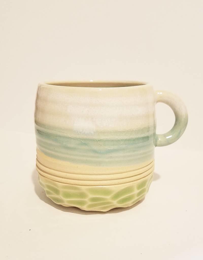 Unurth Ceramics Horizon Espresso Mug-Caribbean