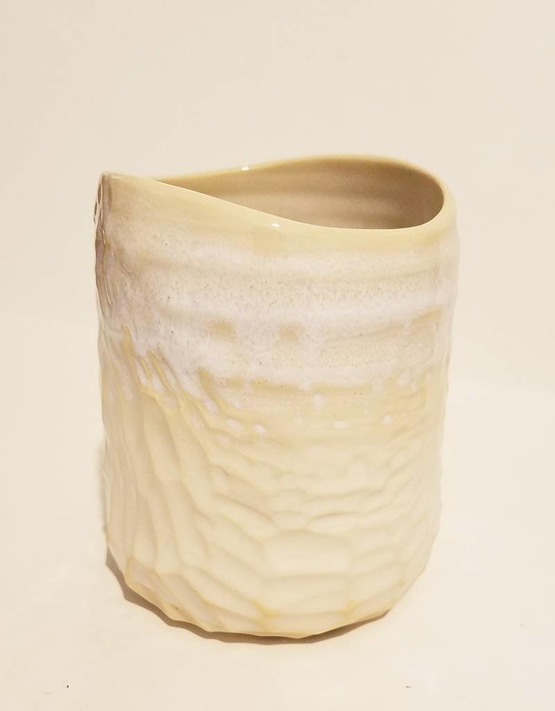 Unurth Ceramics Canyon Highball Cup-Alabaster