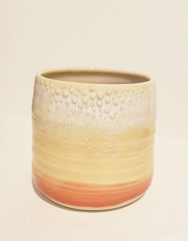 Unurth Ceramics Barnacle Planter-Sunset