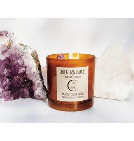 Luna + Quartz Balsam + Tobacco Intention Candle